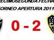 Colón:0 Boca Juniors:2 (Fecha 12°)