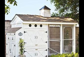 Un gallinero en el jard n paperblog for Gallinero jardin