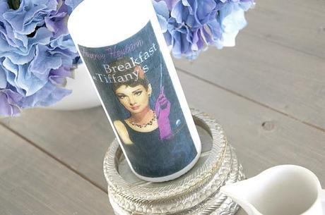 Diy: Decorar una vela con una servilleta de Audrey Hepburn