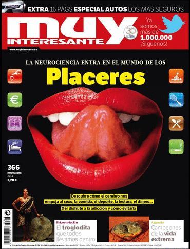 Revista: Muy Interesante [España] - Noviembre 2011 [PDF | Español | 76.02 MB]