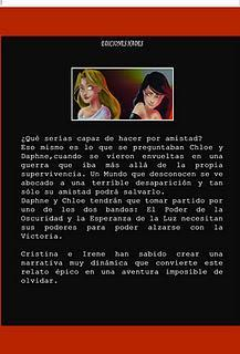 Promoción Jóvenes escritores: Cristina Prieto Solano e Irene Castelos Cortizas