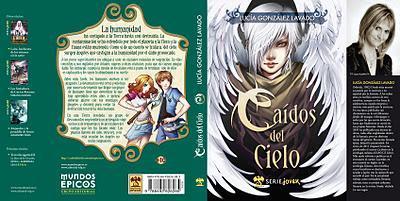 Caídos del cielo, la nueva novela de Lucía González Lavado saldrá publicada por la editorial Mundos épicos
