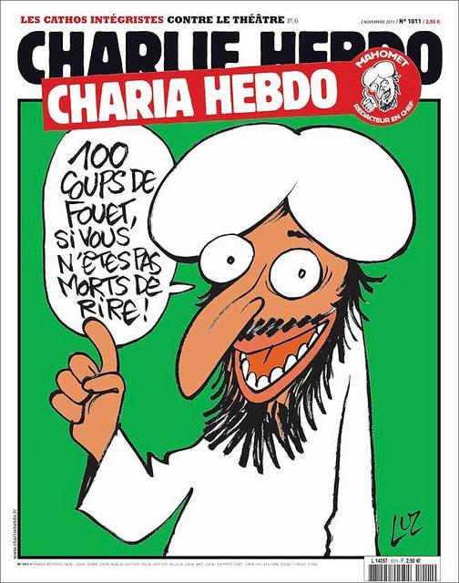 portada de Charlie Hebdo, atacado por fundamentalistas