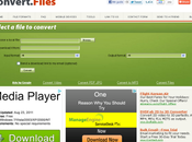 ConvertFiles Convierte archivos online diferentes formatos