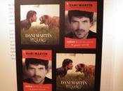 Dani martín presenta libro recibe doble disco platino