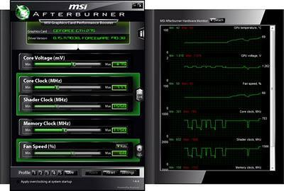 MSI Afterburner - Acelera la velocidad para tu tarjeta en 3D