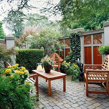 Intimidad en el jard n paperblog for Modelos de jardines interiores