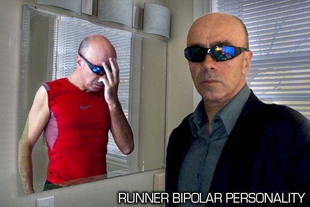 Runner Bipolar Personality - Zero Impact Phase - Looking In The Mirror....