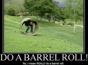 Escribe Google: barrel roll'