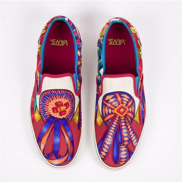Moda - Zapatillas Vans con estilo Hermès - Proyecto