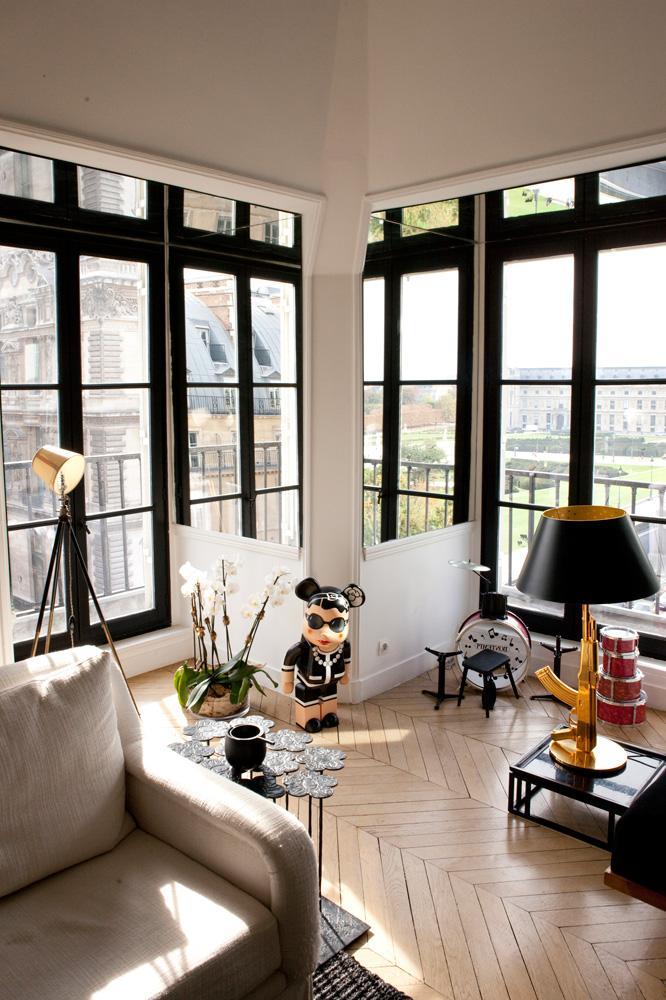 deco sarah lavoine s house paperblog. Black Bedroom Furniture Sets. Home Design Ideas