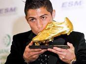 Ronaldo recibe Bota como máximo goleador Europa