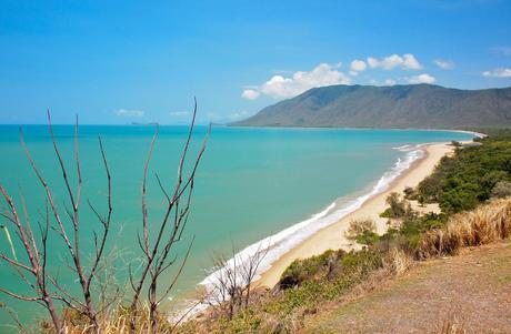 En una playa de la ruta Captain Cook