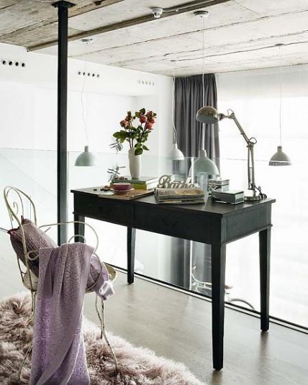 Un loft en dos niveles con muebles vintage paperblog for Loft muebles