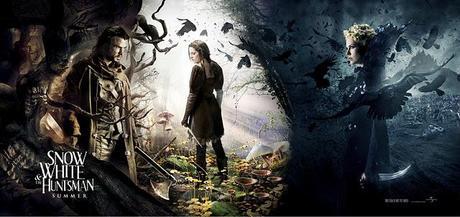 Nuevo póster-banner de la Blancanieves con Charlize Theron