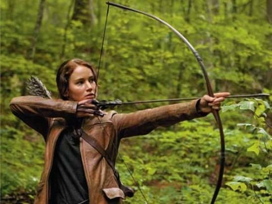 Jennifer Lawrence en The Hunger Games
