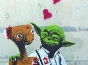 Graffitis 'Star Wars'