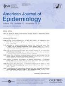 Portada del número de la revista American Journal of Epidemiology donde se ha publicado el estudio sobre lactancia e hipertensión. Enlace al resumen del estudio, en inglés.