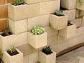 Macetas Materiales Construcción, Reciclando