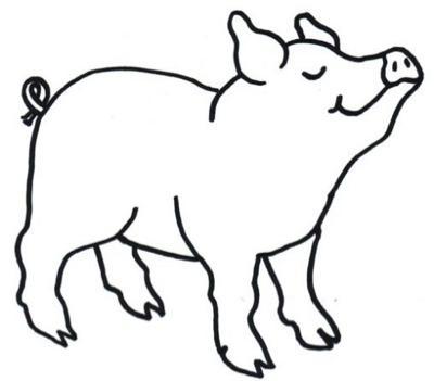 Animales de granja... dibujos para colorear - Paperblog
