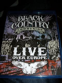 Black Country Communion Live over Europe (2011) blue-ray