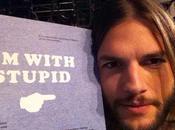 Cinco celebridades que, igual Ashton Kutcher, fueron criticadas tweets