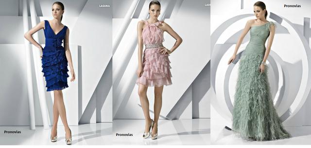 0657c7ffb Nueva colección de vestidos de fiesta de Pronovias 2011 2012 - Paperblog