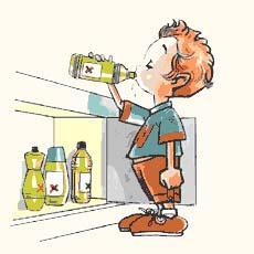 Intoxicaciones en niños: cuidado con la lejía y otros productos de limpieza