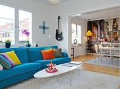 Blue sofa (sweden apt)