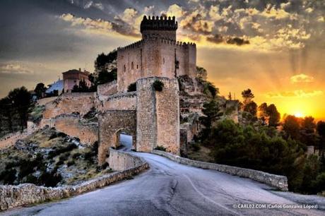Una parada en el castillo de Alarcón, Cuenca.