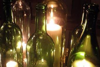 Decorar con velas en botellas paperblog - Botellas con velas ...