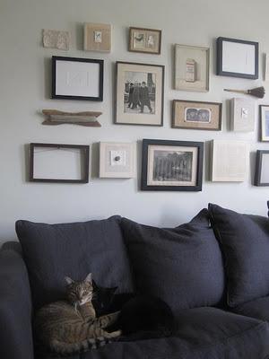 Alicia y la composici n de cuadros en la pared paperblog - Composicion cuadros pared ...