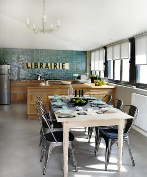 Estilo industrial en cocinas paperblog - Cocina estilo industrial ...