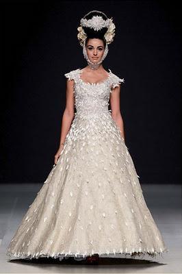 Vestidos de novia de Jorge Terra: colección 2012