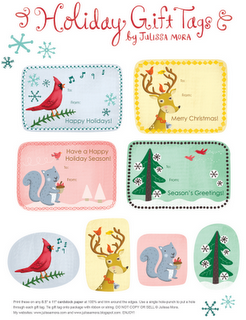 Tarjetas de Navidad para imprimir II