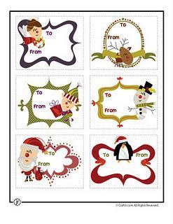 Tarjetas de navidad para imprimir ii paperblog - Dibujos para hacer postales de navidad ...
