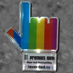Galardón Premios web alicante del Diario la Verdad