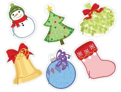 Decoraci n navide a para poner los nombres paperblog - Figuras navidenas para decorar ...