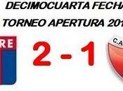 Tigre:2 Colón:1 (Fecha 14°)