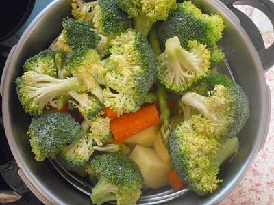 Como hacer verduras al vapor - Hacer menestra de verduras ...