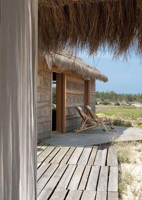 Pequena cabana en la playa paperblog - Cabanas en la playa ...