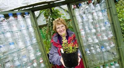 Construir un invernadero con botellas de plástico