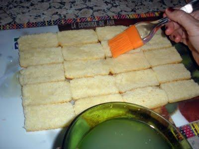 TARTA DE PIÑA (Sin usar horno)
