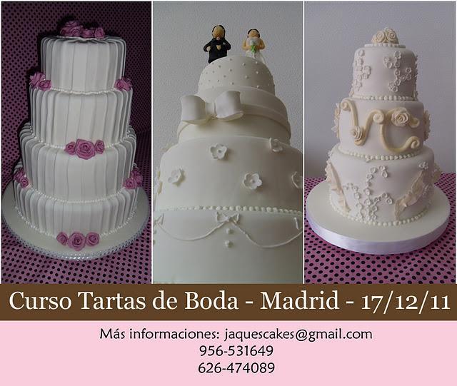 Curso tartas de boda en madrid paperblog for Curso de escaparatismo madrid