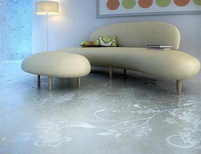 Dise o y arte en pisos de concreto paperblog - Pisos de diseno en barcelona ...