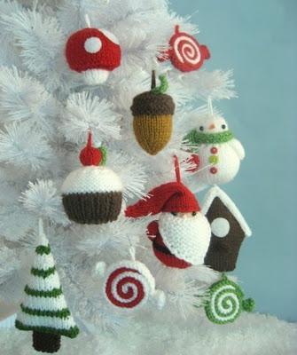 adornos de navidad para hacer t mismo de ganchillo