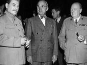 Stalin, Churchill Truman hablan sobre Franco España, Postdam, julio 1945