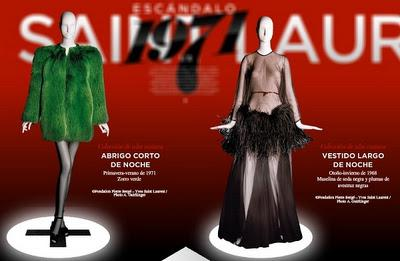 Retrospectiva de Yves Saint Laurent        ¡Por fin en Madrid!