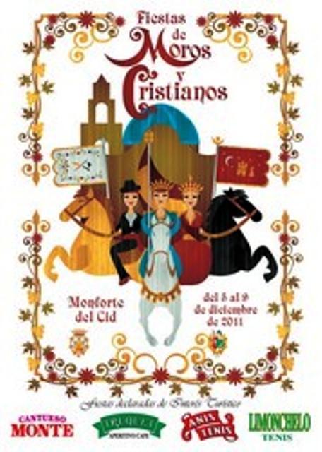 Monforte del Cid. Fiestas Patronales de la Purísima 2011 - Moros y Cristianos