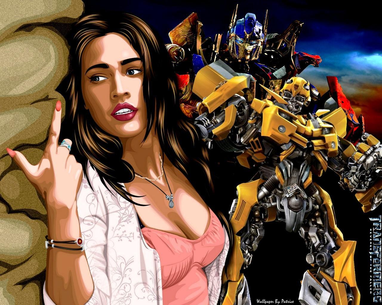 vissid amore megan fox in transformers